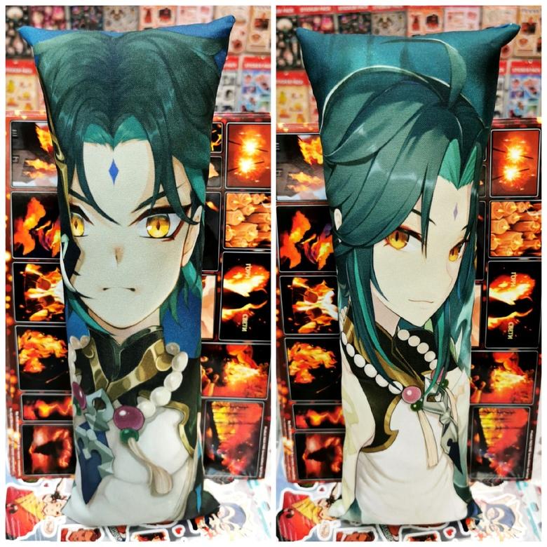 Декоративная средняя дакимакура Genshin Impact (4)