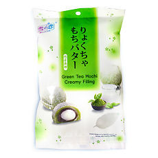 Дайфуку-м-юки зеленый чай с кремом