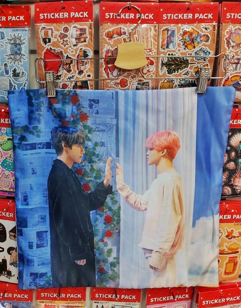 Декоративная подушка BTS (16)