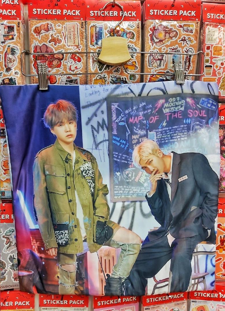 Декоративная подушка BTS (17)