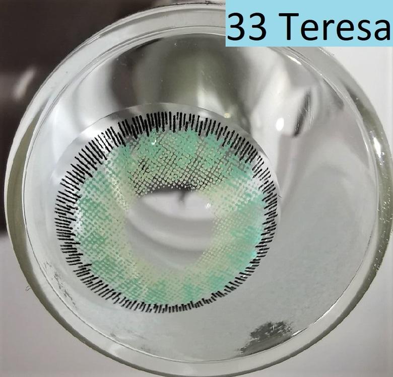 Линзы Зеленые (33 Teresa)