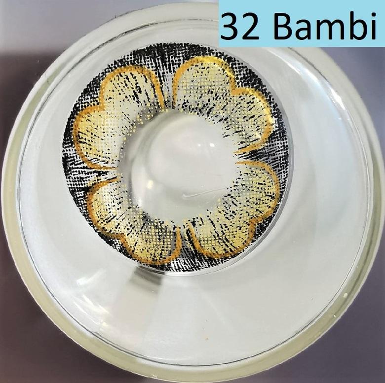 Линзы Карие (32 Bambi)