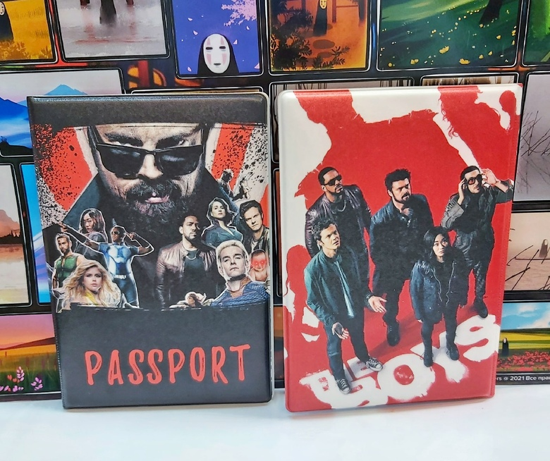 Обложка на паспорт Пацаны\The Boys