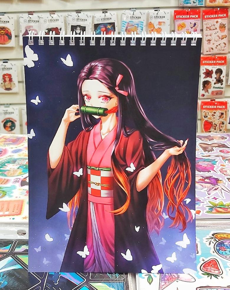 Блокнот Клинок, рассекающий демонов/Kimetsu no Yaiba (1)