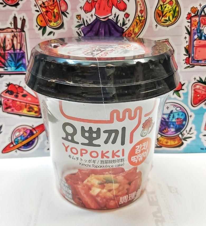 Рисовые клецки (топокки) с кимчи