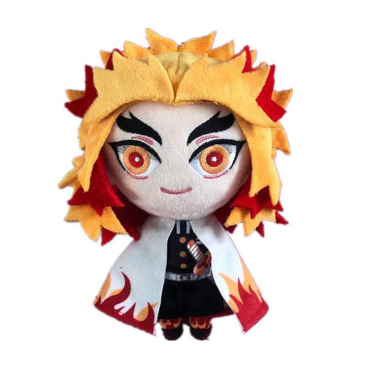 Мягкая игрушка Клинок, рассекающий демонов/Demon Slayer: Kimetsu no Yaiba (Ренгоку)