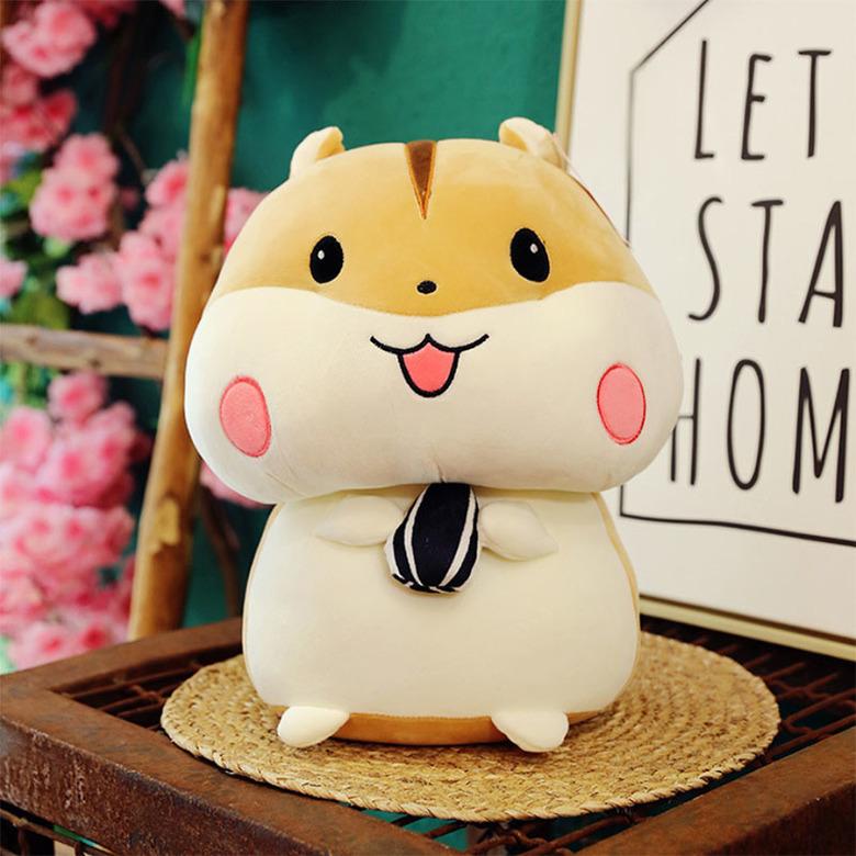 Мягкая игрушка Хомяк/Hamster (бежевый)