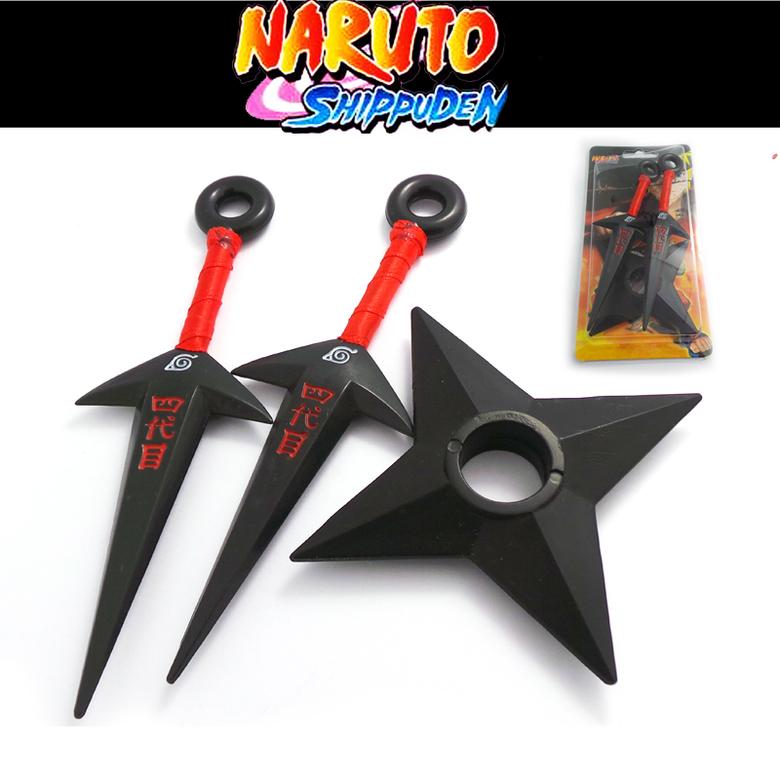 Набор Наруто/Naruto (2 куная и сюрикен)