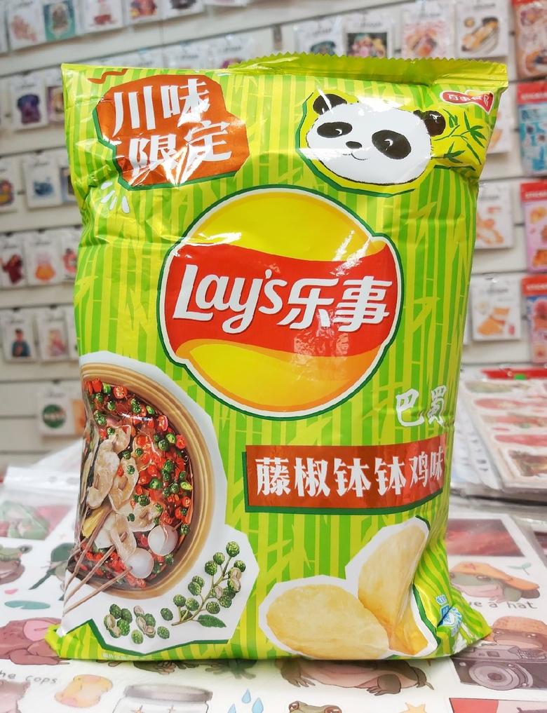 Чипсы Lay's со вкусом национального острого блюда из провинции Сычуань