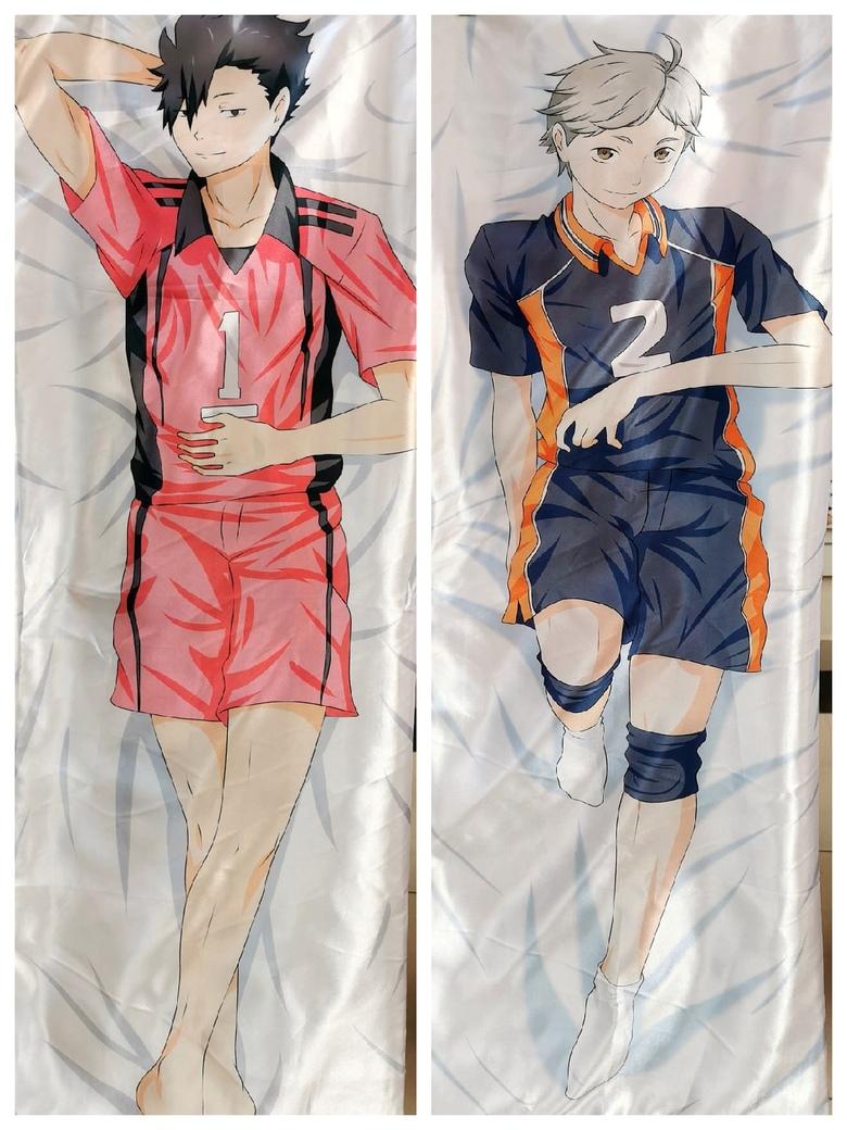 Декоративная подушка дакимакура Волейбол!!/Haikyuu!! (1)