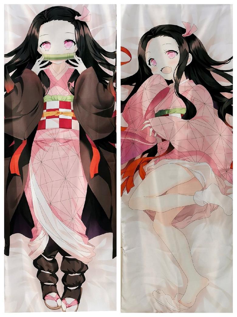 Декоративная подушка дакимакура Клинок, рассекающий демонов / Kimetsu no Yaiba (2)