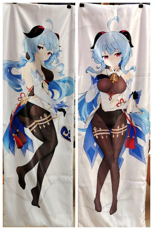 Декоративная подушка дакимакура Genshin Impact (3)