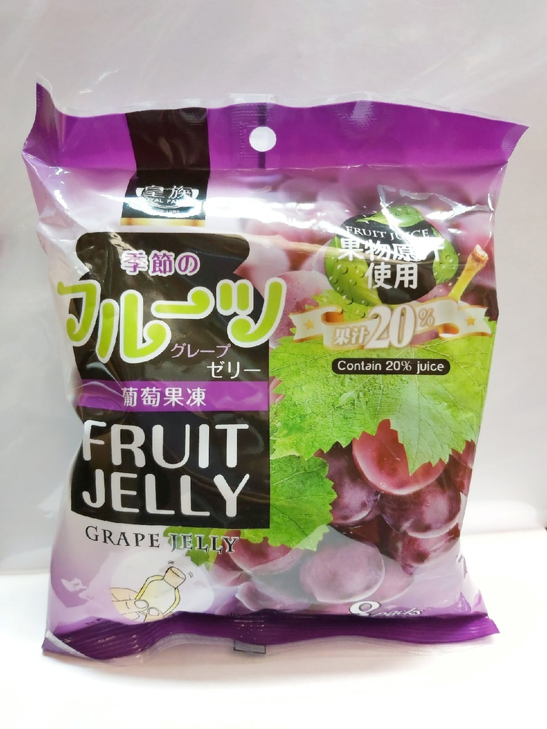 Фрукт-желе со вкусом Винограда