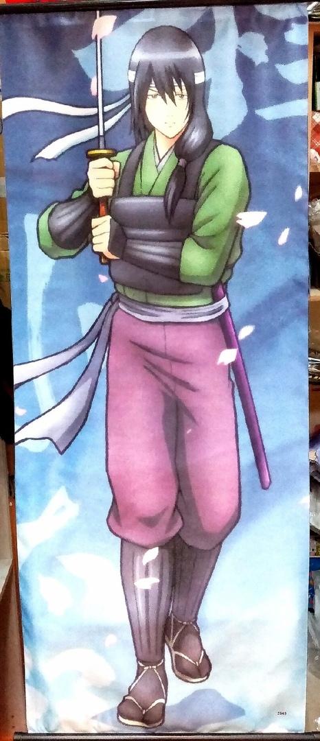 Тканевый плакат Гинтама/Gintama