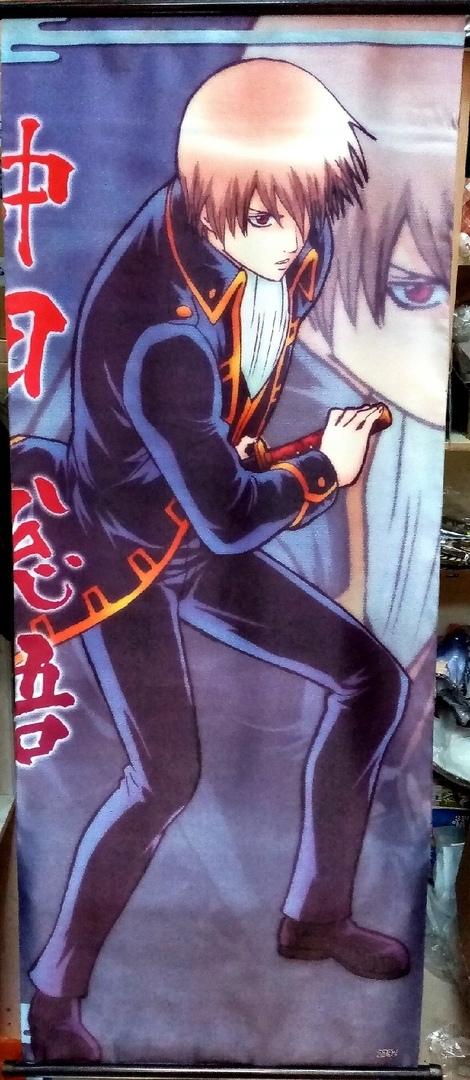 Тканевый плакат Гинтама/Gintama (3)