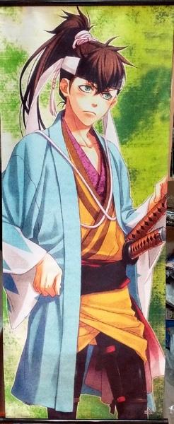 Тканевый плакат Сказание о демонах сакуры/Hakuouki
