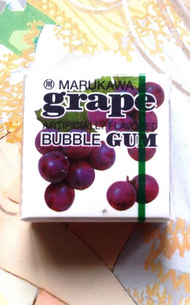 Жевательная резинка MARUKAWA (виноград)