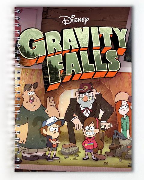 Тетрадь Гравити Фолз/Gravity Falls