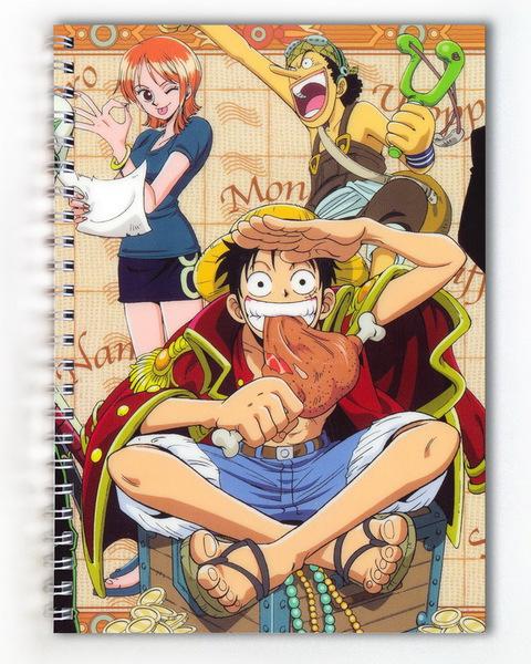 Тетрадь Ван Пис/One Piece (1)