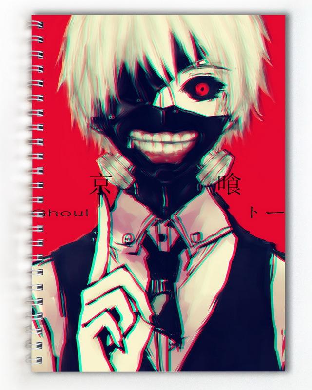 Тетрадь Токийский Гуль/Токийский монстр/Tokyo Ghoul (2)