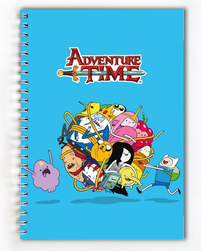 Тетрадь Время приключений/Adventure Time