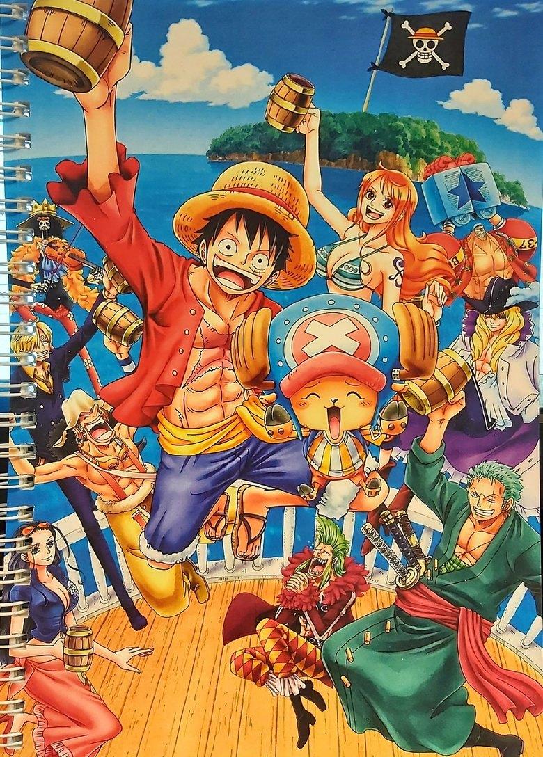 Тетрадь Ван Пис/One Piece