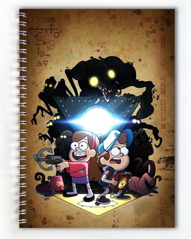 Тетрадь Гравити Фолз/Gravity Falls (3)