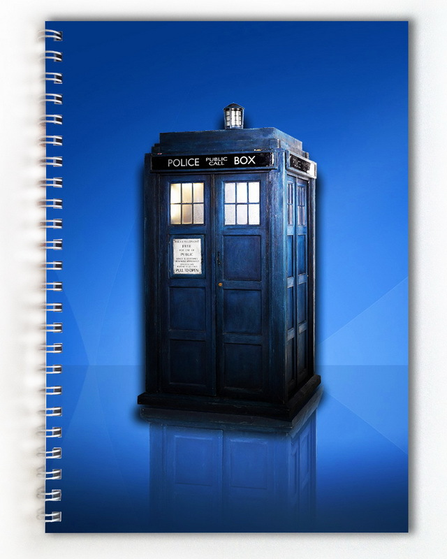 Тетрадь Доктор Кто/Doctor Who