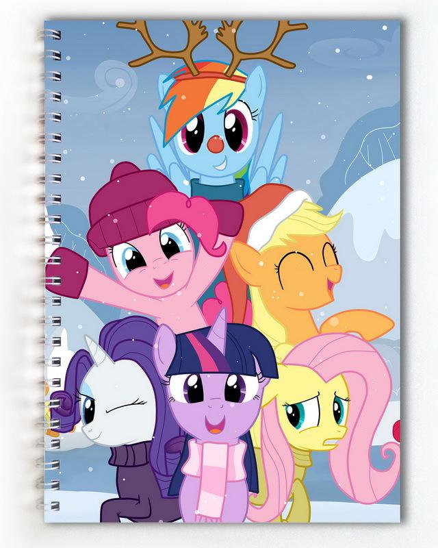 Тетрадь My little pony