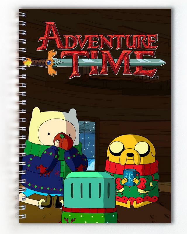 Тетрадь Время приключений/Adventure Time (3)
