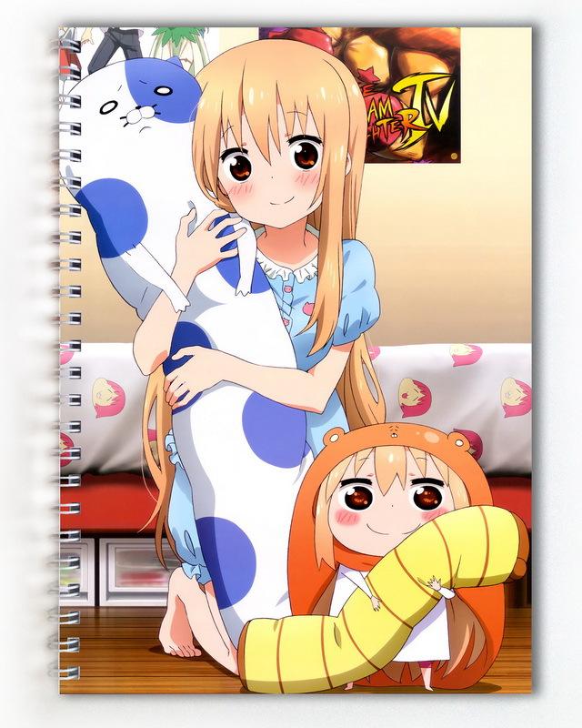 Тетрадь Двуличная сестрёнка Умару-чан!/Himouto! Umaru-chan