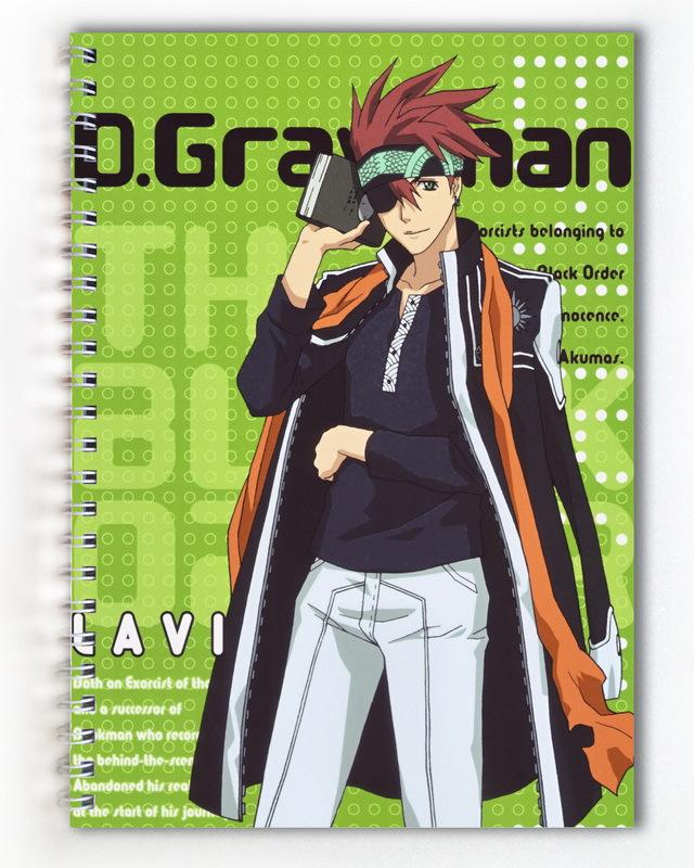Тетрадь Грэй-мен/D.Gray-man (1)