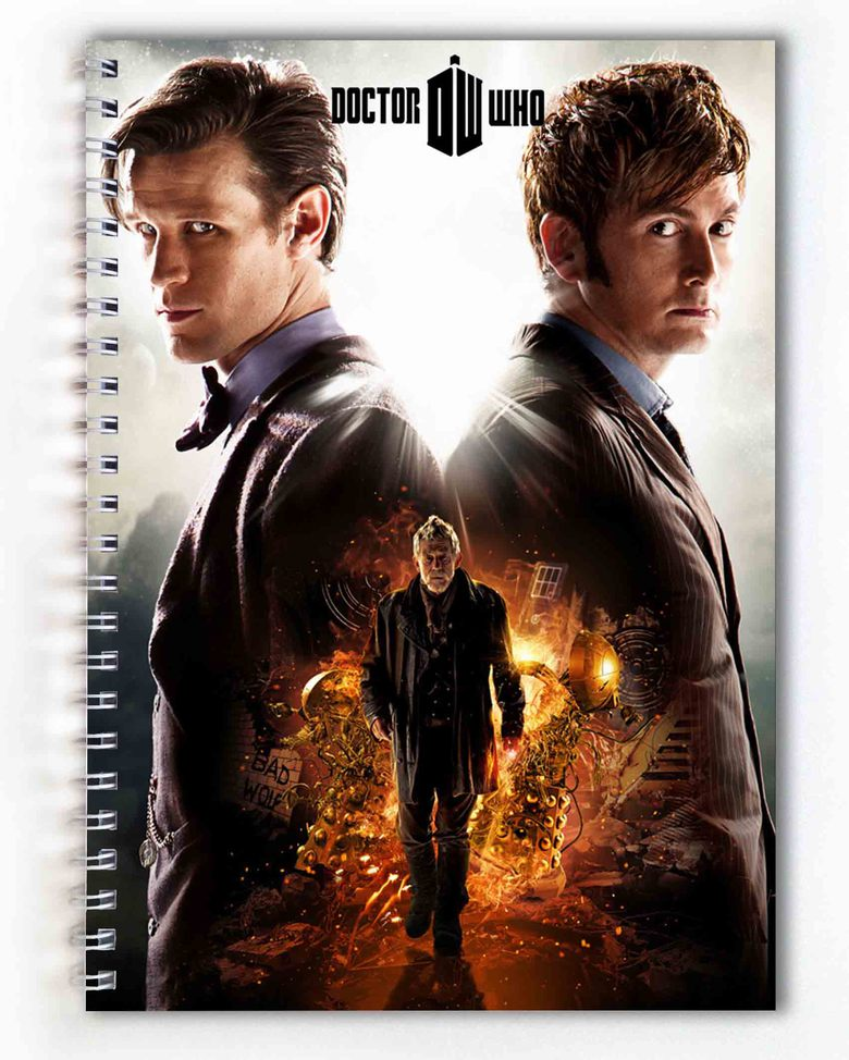 Тетрадь Доктор Кто/Doctor Who (1)