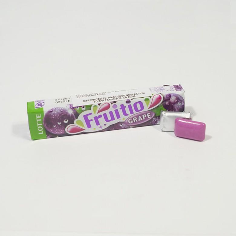 Жевательная резинка FRUITIO со вкусом винограда