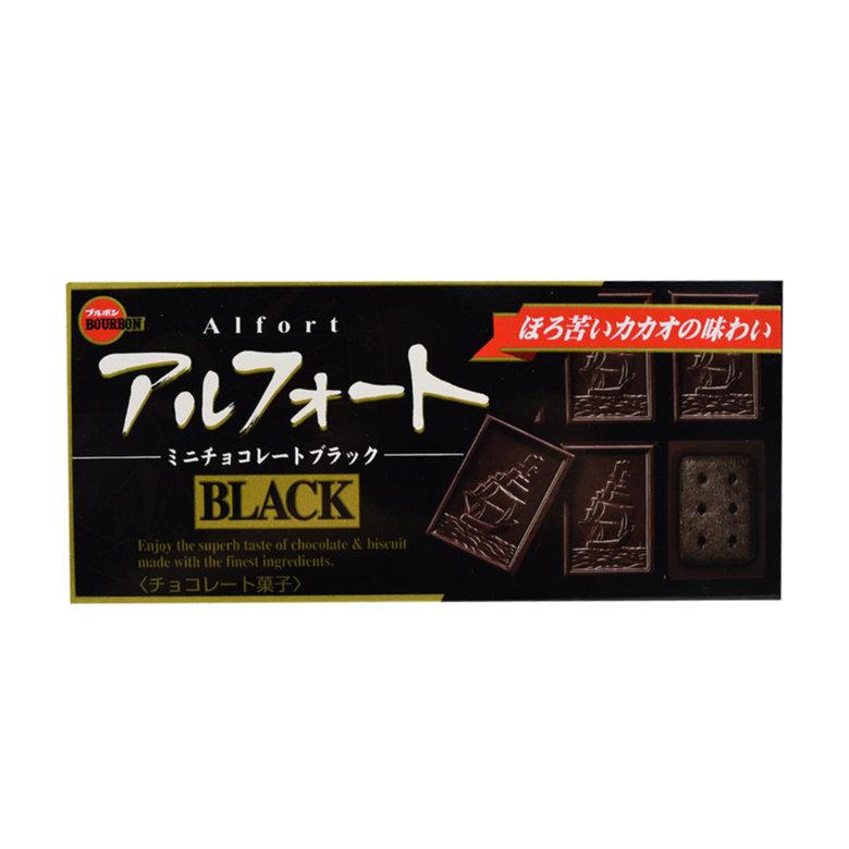 Печенье Bourbon покрытое темным шоколадом