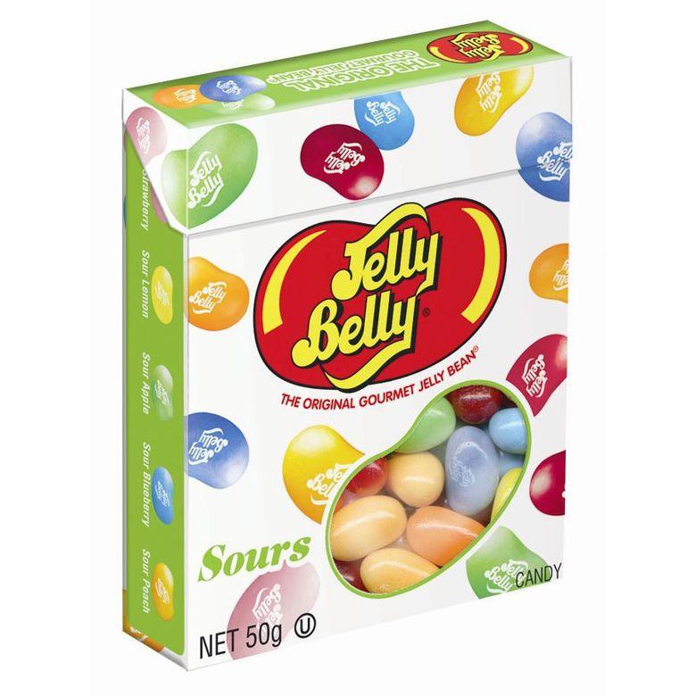 """Jelly Belly Конфеты Jelly Belly """"Кислые фрукты"""" в коробочке"""