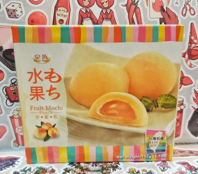 Моти-мини с персиком