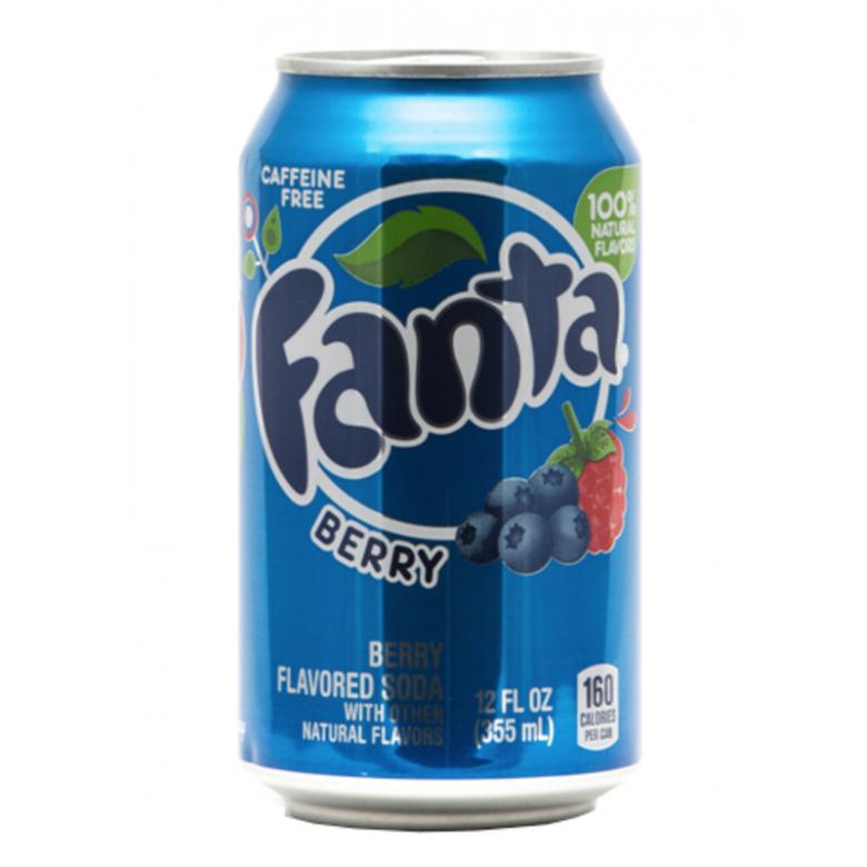 """Fanta """"Лесные ягоды"""""""