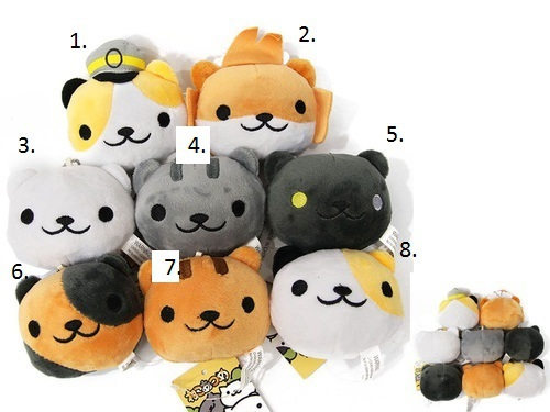 Мягкая игрушка Neko Atsume (4)
