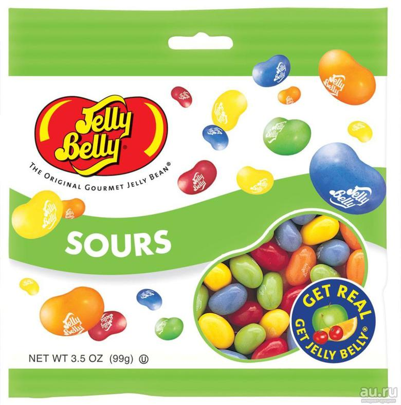 "Jelly Belly Конфеты Jelly Belly ""Кислые фрукты"""