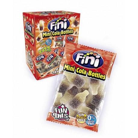 """Жевательный мармелад """"Fini"""" (мини-упаковка), кола в бутылочках"""