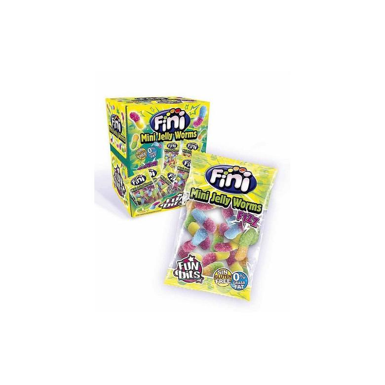 """Жевательный мармелад """"Fini"""" (мини-упаковка), сахарные червячки"""
