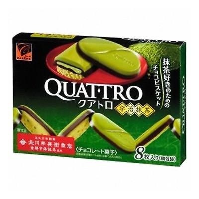 """Печенье """"Quattro"""", со вкусом чая матча в шоколаде"""
