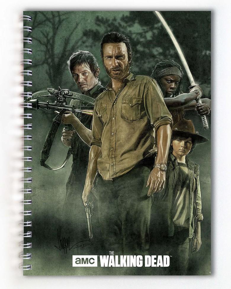 Тетрадь Ходячие мертвецы / The Walking Dead