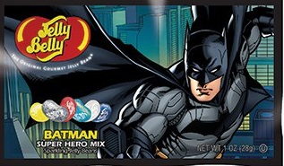 "Конфеты Jelly Belly Super Hero ""Batman"", 28 г"