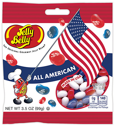 Конфеты Jelly Belly All American Mix